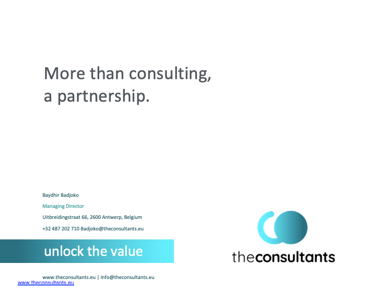 CTA-More than consulting - a partnership